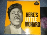 LITTLE RICHARD - HERE'S LITTLE RICHARD (Ex++/VG+++) / 1957 UK ENGLAND ORIGINAL MONO Used LP