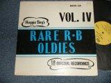 V.A. Various OMNIBUS - Huggie Boy's Rare R-B Oldies Vol. IV (Ex++/Ex++) / US AMERICA ORIGINAL Used LP