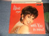"ALMA COGAN - ALMA SINGS WITH YOU IN HAND (MINT-, Ex++/MINT-) /1961 UK ENGLAND ORIGINAL 1st Press ""GREEN with GOLD TEXIST Label"" MONO Used LP"