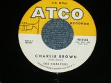 "THE COASTERS - CHARLIE BROWN / 1959 US ORIGINAL 7"" SINGLE"