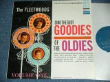 THE FLEETWOODDS - SING THE BEST GOODIES OF THE OLDIES / 1962 US ORIGINAL Turquoice Label With DOLPHIN on Top Used STEREO LP