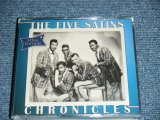 THE FIVE SATINS - CHRONXCLES / 2008 UK ORIGINAL Brand New 3 CD