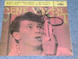 "GENE VINCENT - RIGHT HERE ON EARTH / 1980s SPAIN REISSUE 7""EP With PICTURE SLEEVE"