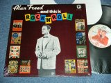 V.A. OMNIBUS DJ : ALAN FREED  - ...AND THIS IS ROCK 'N' ROLL ( RADIO SHOW  With ALLAN'S DJ )  / 1985 US ORIGINAL Used LP