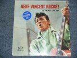 GENE VINCENT - GENE VINCENT ROCKS!  / 2000's US REISSUE Sealed LP