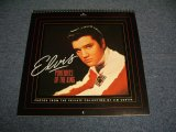 ELVIS PRESLEY -1991 CALENDAR PORTRAITS OF THE KING / US ORIGINAL?