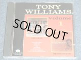 TONY WILLIAMS of THE PLATTERS - VOLUME 1 : A GIRL IS A GIRL + THE MAGIC TOUCH TONY ( 2 in 1 ) / 1992 US ORIGINAL Brand New CD