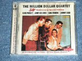 THE MILLION DOLLAR QURTET ( ELVIS PRESLEY,CARL PERKINS,JOHNNY CASH, JERRY LEE LEWIS ) - 50T6H ANNIVERSARY SPECIAL EDITION ( 2CD'S SET ) / 2006 UK ORIGINAL Brand New Sealed 2CD