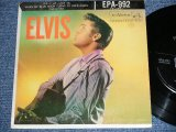 "ELVIS PRESLEY - ELVIS VOL.1 / 1956 US ORIGINAL 1st Press 'LINED Label' 7""45rpm EP With Picture Sleeve"