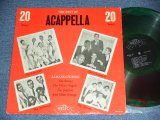 V.A. OMNIBUS - THE BEST OF ACAPPELLA 20 SONGS / 1950's US ORIGINAL COLOR MARBLE WAX VINYL MONO Used LP