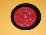 SPIDERS - I DIDN'T WANT TO DO IT( DEBUT SINGLE ) / US ORIGINAL 78rpm SP