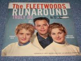 "THE FLEETWOODS - RUNAROUND / 1960 US ORIGINAL 7""SINGLE With PICTURE SLEEVE"