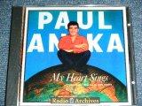 PAUL ANKA - MY HEART SINGS ( ORIGINAL ALBUM + BONUS TRACKS  ) /  EU CUSTOM MADE  BRAND NEW CD-R