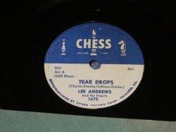 画像1: LEE ANDREWS and THE HEARTS - TEAR DROPS / US ORIGINAL 78rpm SP