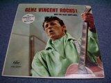 GENE VINCENT - GENE VINCENT ROCKS! / 1958 US ORIGINAL YELLOW LABEL PROMO mono LP