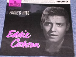 "画像1: EDDIE COCHRAN - EDDIE'S HITS / 1963 UK ORIGINAL 7""EP With PICTURE SLEEVE"
