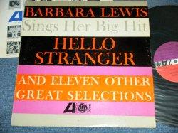 画像1: BARBARA LEWIS - SINGS HER BIG HITS : HELLO STRANGER  ( Ex-/Ex+++ ) / 1963 US ORIGINAL RED & PURPLE With BLACK FAN logo on LABEL  MONO LP