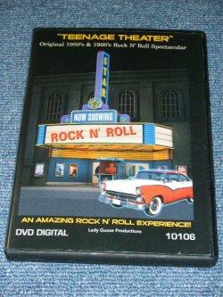 画像1:  VA OMNIBUS - TEENAGE THEATER ORIGINAL 1950's & 1960's ROCK 'N' ROLL SPECTACULAR 2009 CANADA Brand New DVD