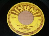 "ELVIS PRESLEY - BABY LET'S PLAY HOUSE With 3 PUSH MARK With COMPANY SLEEVE/ 1955 US ORIGINAL SEPTEMBER RELEASE 7"" Single"