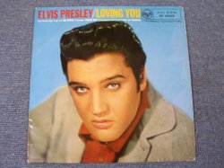 "画像1: ELVIS PRESLEY - LOVING YOU / 1957 UK ORIGINAL 10"" LP"