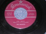 "THE CRICKETS ( BUDDY HOLLY ) - OH BOY / 1957 US Original 7"" Single"