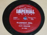 FATS DOMINO - BLUE BERRY HILL / US ORIGINAL 78rpm SP