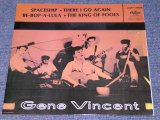 "GENE VINCENT - SPACESHIP / 1980s SPAIN REISSUE 7""EP With PICTURE SLEEVE"