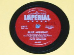 画像1: FATS DOMINO - BLUE MONDAY / US ORIGINAL 78rpm SP