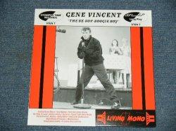 "画像1: GENE VINCENT - THE BE-BOP-BOOGIE BOY / 2001 UK ORIGINAL Brand New 10""LP"