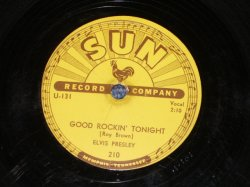 "画像1: ELVIS PRESLEY - GOOD ROCKIN' TONIGHT /1954 September US ORIGINAL 10"" 78rpm SP"