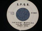 "JIMMIY SOUL - TWISTOIN' MATILDFA / 1962 US ORIGINAL 7"" Single"