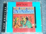 THE DRIFTERS -DEFINITIVE ANTHOLOGY SEVEN   : I'LL TAKE YOU WHERE THE MUSIC'S PLAYING  ( ORIGINAL ALBUM + BONUS ) / 1996 UK  ORIGINAL Brand New SEALED CD