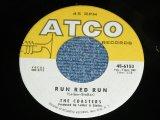"""THE COASTERS - RUN RED RUN (MINT-/MINT- ) / 1959 US ORIGINAL 7"""" SINGLE"""