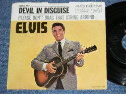 "画像1: ELVIS PRESLEY - DEVIL IN DESGUISE / 1963 US ORIGINAL 7""45rpm Single With Picture Sleeve"