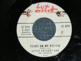"LITTLE ANTHONY & THE IMPERIALS - TEARS ON MY PILLOW / 1958 US ORIGINAL 7"" SINGLE"