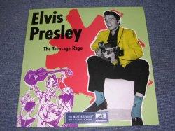 """画像1: ELVIS PRESLEY - THE TEEN-AGE RAGS ( GREEN COVER )/ REPRO? 10"""" LP"""