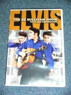 画像1: ELVIS PRESLEY - THE ED SULLIVAN SHPOW : THE CLASSIC PERFORMANCES  / 2009 EU ORIGINAL REGION FREE DVD