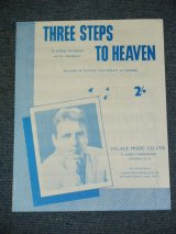 EDDIE COCHRAN - THREE STEPS TO HEAVEN / UK SHEET MUSIC