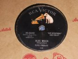 ELVIS PRESLEY - BLUE MOON / US ORIGINAL 78rpm SP
